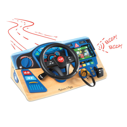 Vroom & Zoom Interactive Dashboard from Melissa & Doug