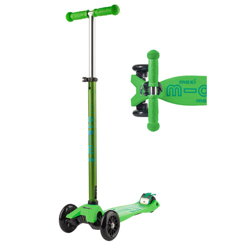Maxi Deluxe Scooter - Green - from Micro Kickboard