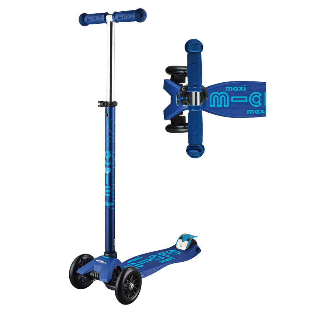Maxi Deluxe Scooter - Navy Blue - from Micro Kickboard