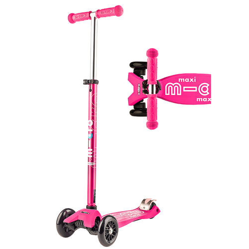 Maxi Deluxe Scooter - Pink - from Micro Kickboard