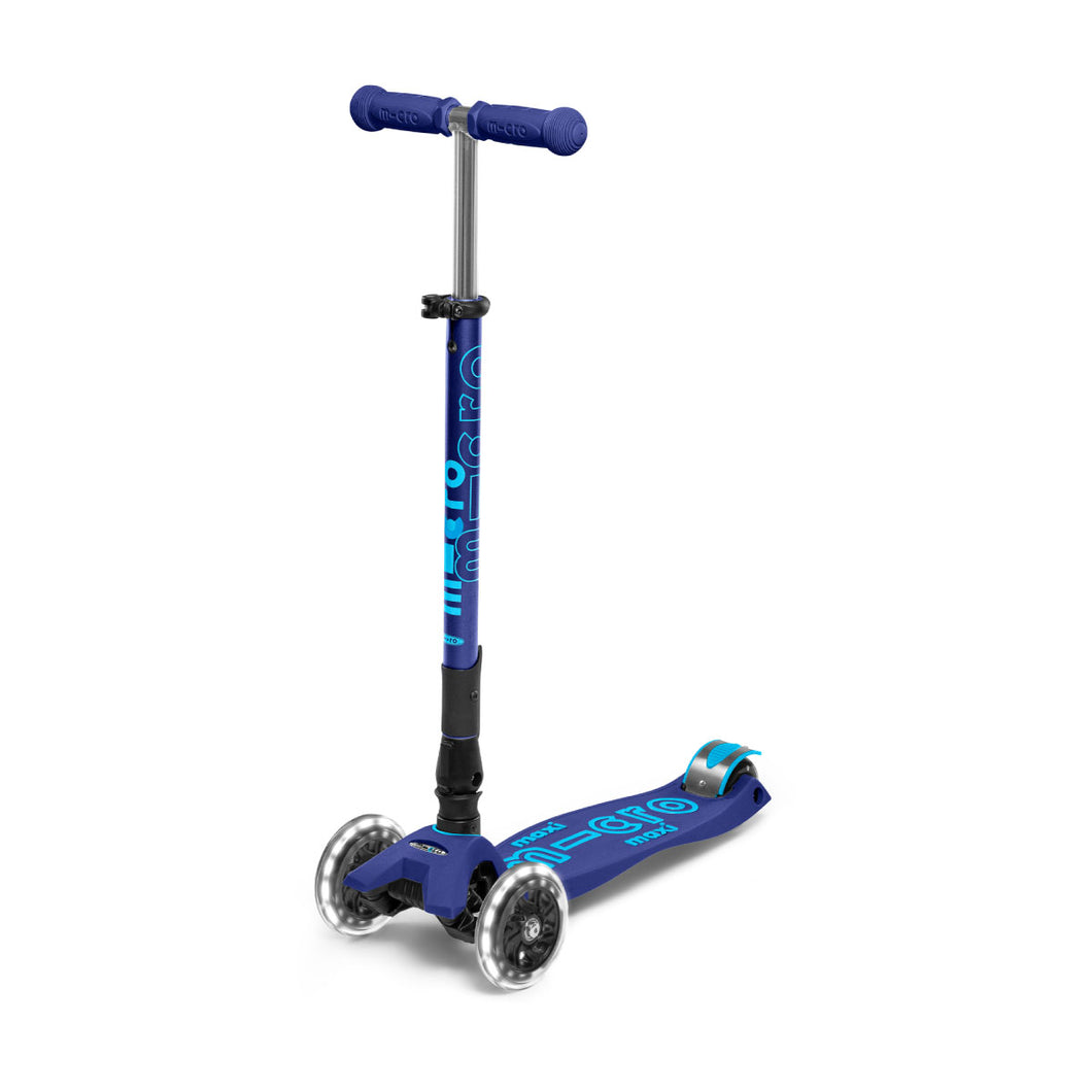 Maxi Deluxe Foldable LED Wheels - Navy Blue