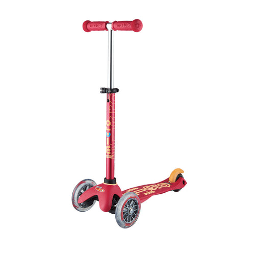 Mini Deluxe Scooter - Ruby Red - From Micro Kickboard