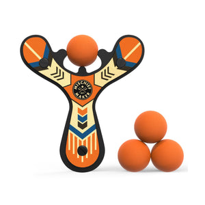 Orange Mischief Maker Classic Slingshot