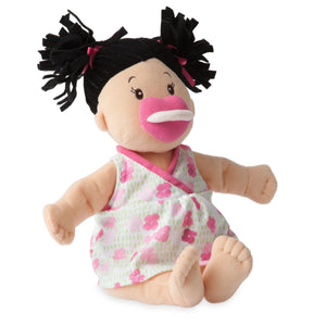 Brunette Baby Stella Doll from Manhattan Toy