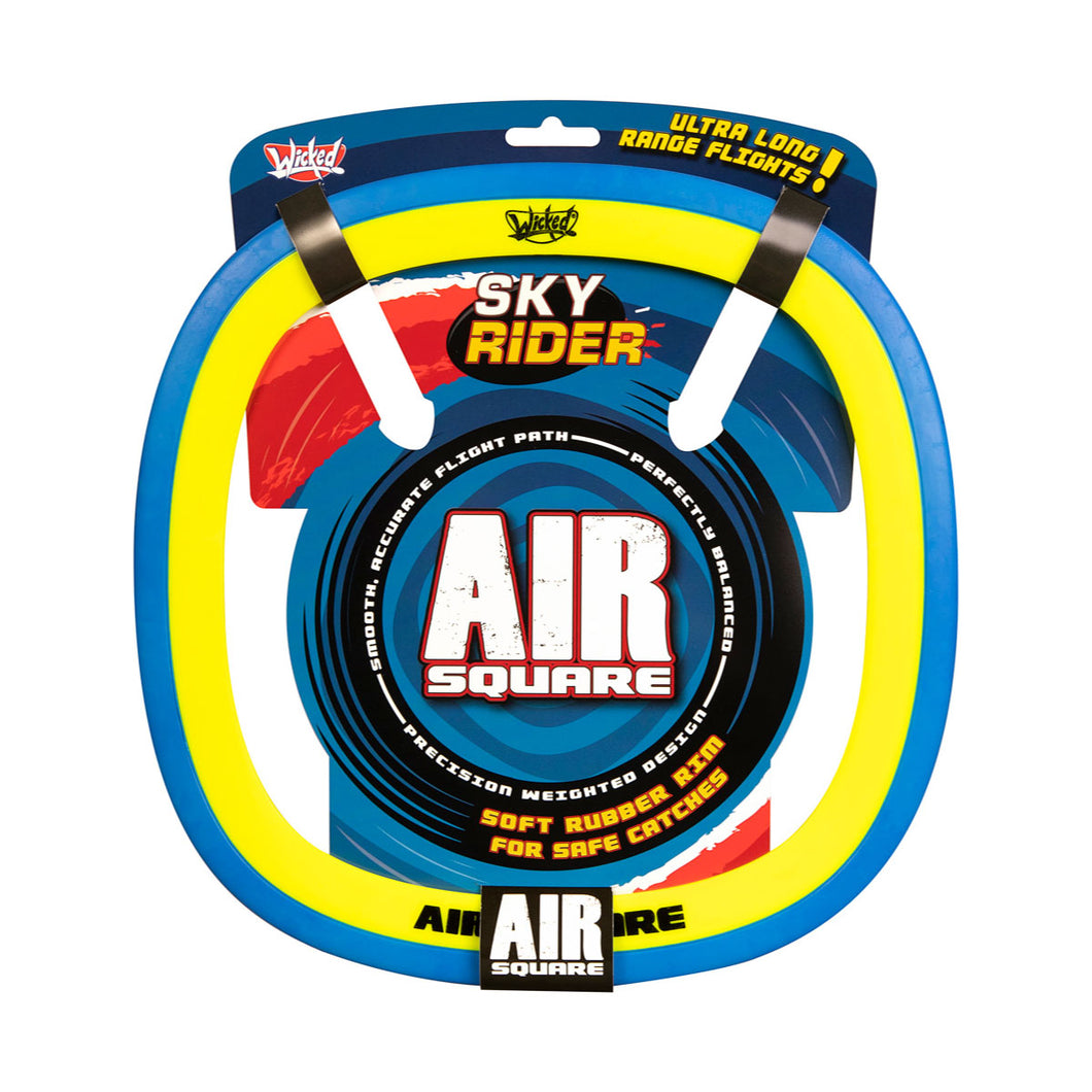 Wicked Sky Rider Air Square Frisbee in Blue