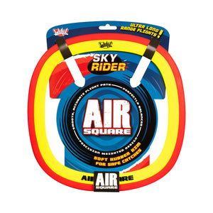 Wicked Sky Rider Air Square Frisbee in Red