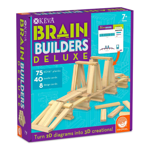 Keva Brain Builders Deluxe from Mindware