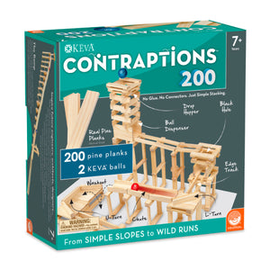Keva Contraptions 200 pc Plank Set from Mindware