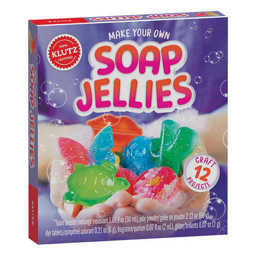 Make Your Own Soap Jellies from Kluz