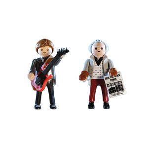 Back to the Future 1955 Marty McFly & Doc Brown Playmobil Figures