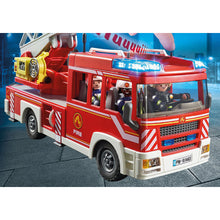 Load image into Gallery viewer, Fire Ladder Unit Firefighter Playmobil City Action Set
