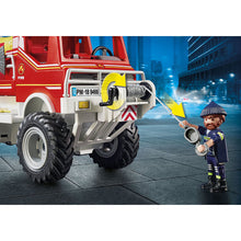 Load image into Gallery viewer, Fire Truck Firefighter Playmobil City Action Set