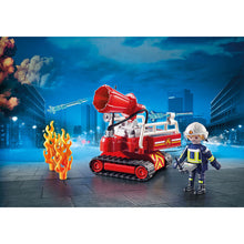 Load image into Gallery viewer, Fire Water Cannon Playmobil City Action Set