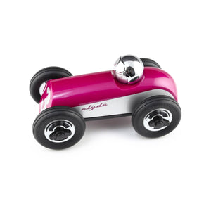Playforever Jetstream (Fuchsia & Silver) Clyde Race Car