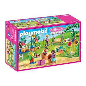 Children's Birthday Party Playmobil Dollhouse Set