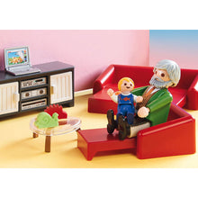 Load image into Gallery viewer, Comfortable Living Room Playmobil Dollhouse Set
