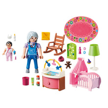 Load image into Gallery viewer, Nursery Bedroom Playmobil Dollhouse Set