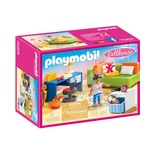 Teenager's Bedroom Playmobil Dollhouse Set