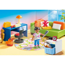 Load image into Gallery viewer, Teenager's Bedroom Playmobil Dollhouse Set