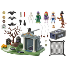 Load image into Gallery viewer, Scooby-Doo! Adventure in the Cemetery Playmobil Set