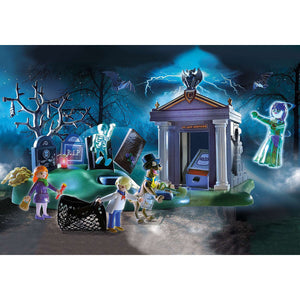 Scooby-Doo! Adventure in the Cemetery Playmobil Set