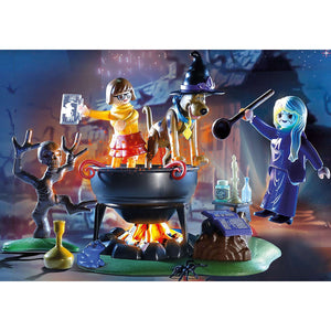 Scooby-Doo! Adventure in the Witch's Cauldron Playmobil Set