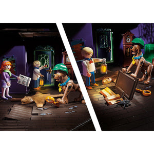 Scooby-Doo! Adventure in the Mystery Mansion Playmobil Set