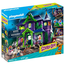Load image into Gallery viewer, Scooby-Doo! Adventure in the Mystery Mansion Playmobil Set