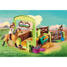 Load image into Gallery viewer, Lucky & Spirit with Horse Stall Spirit Riding Free Playmobil Set