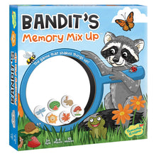 Load image into Gallery viewer, Bandit's Memory Mix Up Game from Peaceable Kingdom