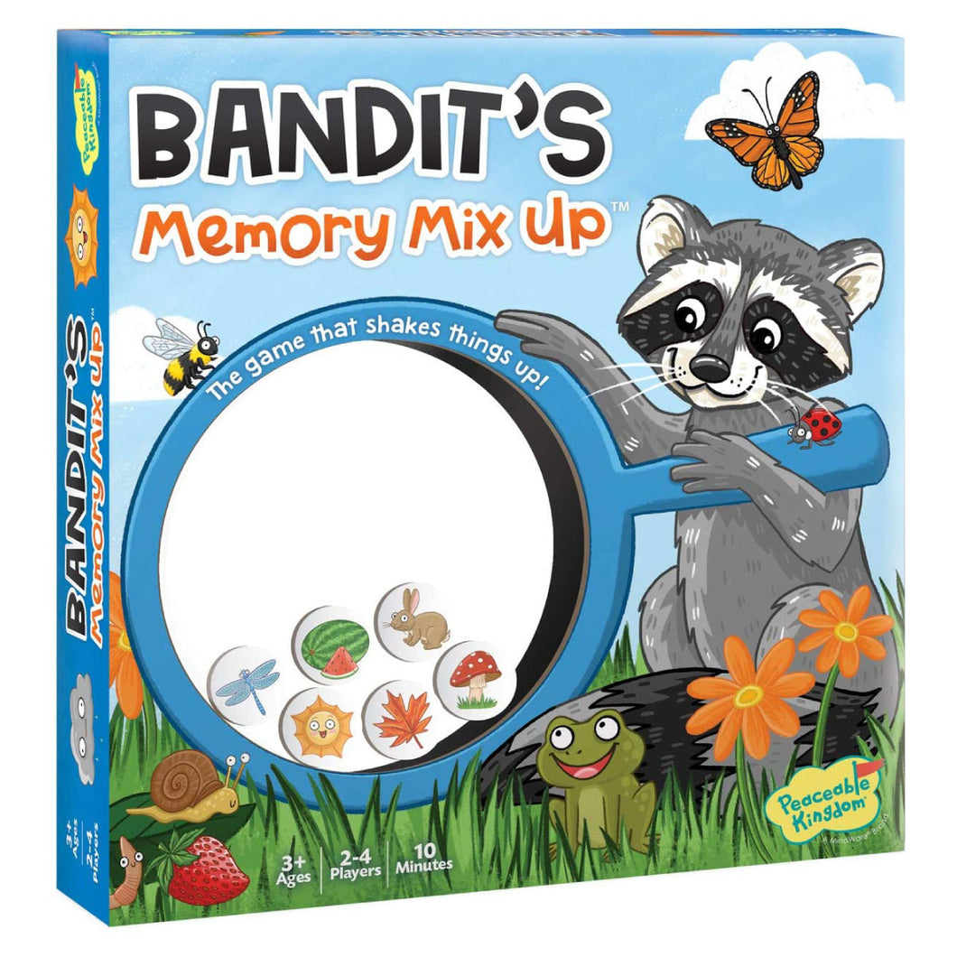 Bandit's Memory Mix Up Game from Peaceable Kingdom