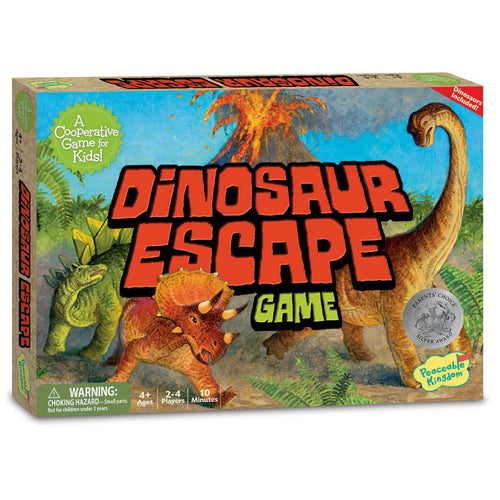 Dinosaur Escape from Peaceable Kingdom