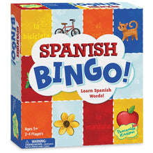 Load image into Gallery viewer, Spanish Bingo from Peaceable Kingdom