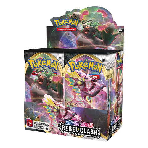 Pokemon Trading Card Game Sword & Shield Rebel Clash Booster Pack
