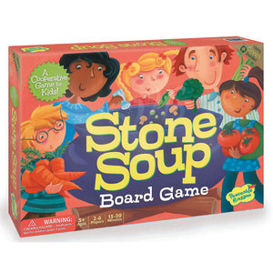 Stone Soup Cooperative Board Game from Peaceable Kingdom