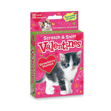 Load image into Gallery viewer, Kitty Scratch & Sniff Valentines