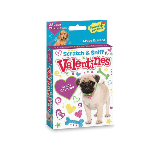Puppy Scratch and Sniff Valentines