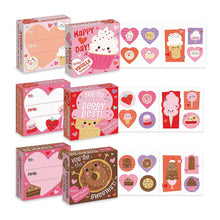 Load image into Gallery viewer, Valentine Treats Scratch & Sniff Sticker Boxes