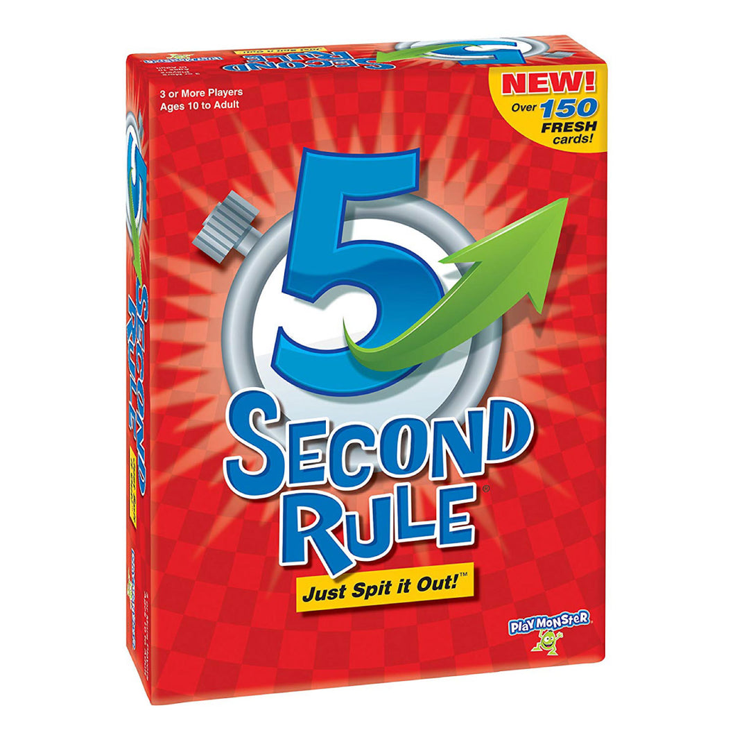 5 Second Rule from Playmonster