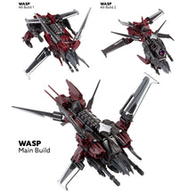 Load image into Gallery viewer, Snap Ships Battle Set Wasp K.L.A.W. Heavy Fighter + FALX SC-41 Escort