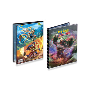 Pokemon TCG 4 Pocket Portfolio Binders - Sword & Shield Rebel Clash