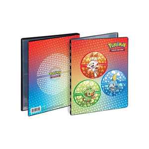 Pokemon TCG 4 Pocket Portfolio Binders - Sword & Shield
