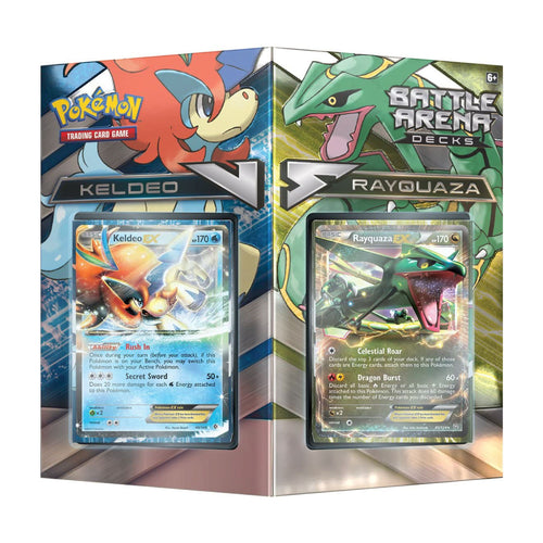Pokemon TCG - Battle Arena Decks Set - Rayquaza vs Keldeo