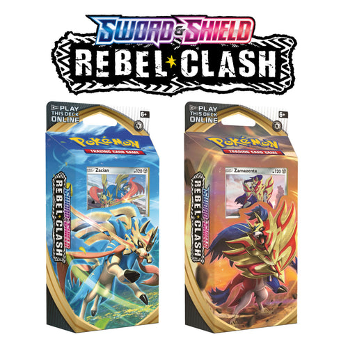 Pokemon TCG Theme Decks - Zacian or Zamazenta - Sword & Shield Rebel Clash