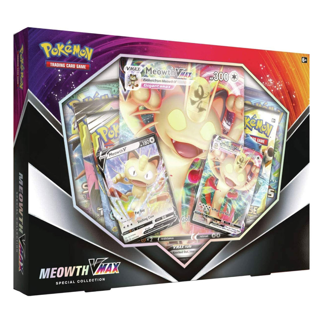 Pokemon TCG - Meowoth VMax Special Collections