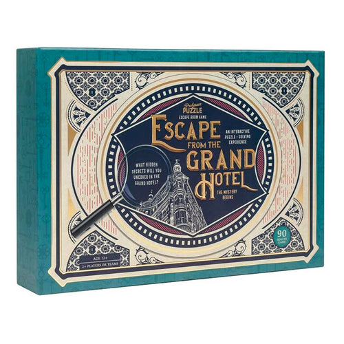 Escape from the Grand Hotel Game from Professor Puzzle