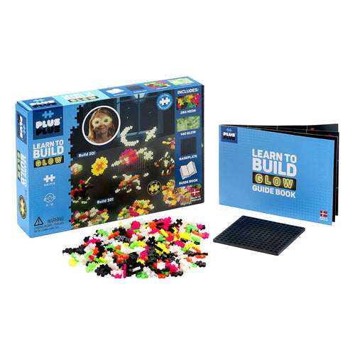 Plus-Plus Glow Learn to Build Set
