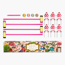 Load image into Gallery viewer, Queen of Hearts Flamingo Croquet from Wonderland Games/Professor Puzzle