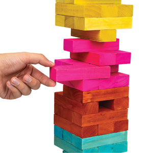 Totally Tropical Giant Toppling Tower from Professor Puzzle