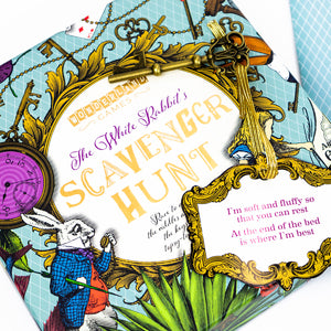 White Rabbit's Scavenger Hunt Game from Wonderland Games/Professor Puzzle